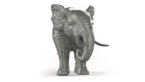 Unser Elefant zeigt unsere Leistungsfähigkeit im Bereich CAD Modellierung.